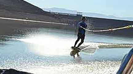 Water Skiing at Kwaggas Kloof Resort